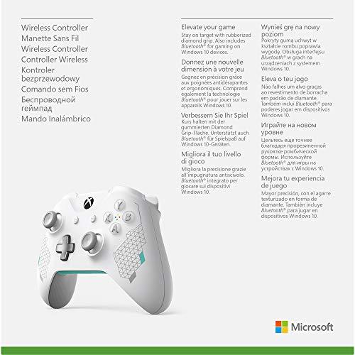 Official Xbox Wireless Sport White Special Edition