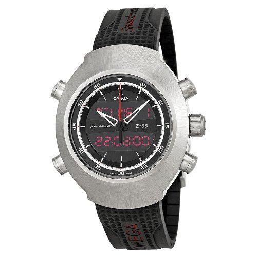 Omega Spacemaster Z-33 Chronograph Digital Mens Watch