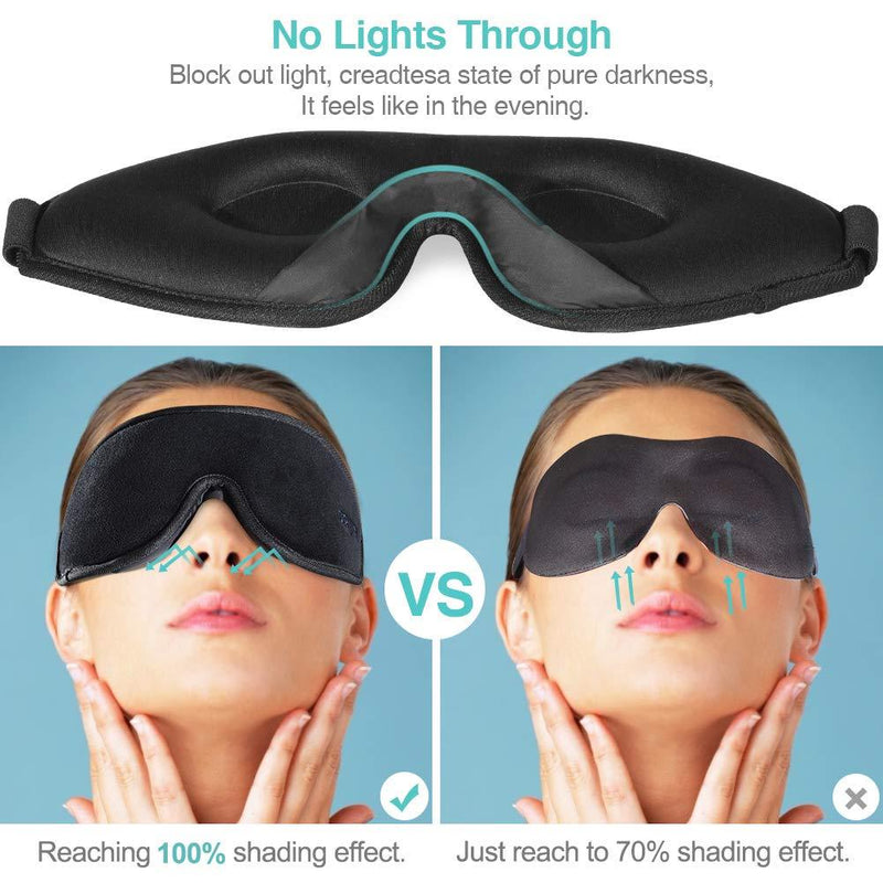 OriHea Sleep Mask for Women & Men 3D Comfort Ultra Soft