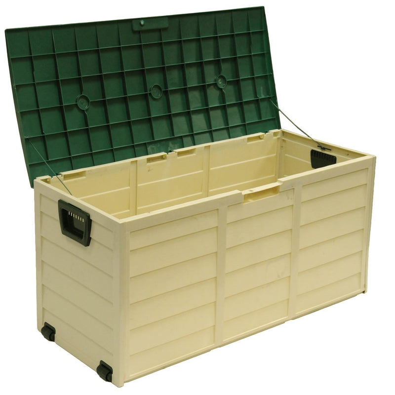 Outdoor Garden Plastic Storage Lockable Utility Tool Chest