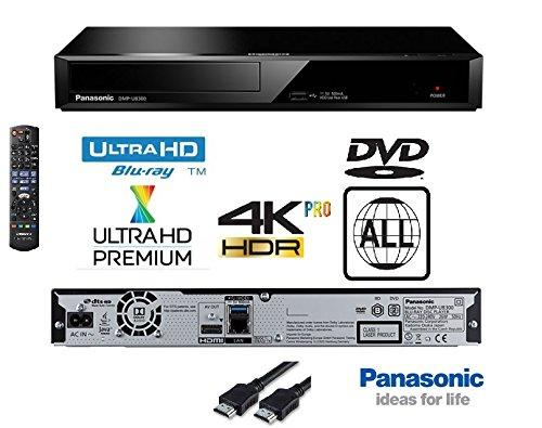 Panasonic 4K Ultra HD Blu-Ray Player With Multiregion DVD