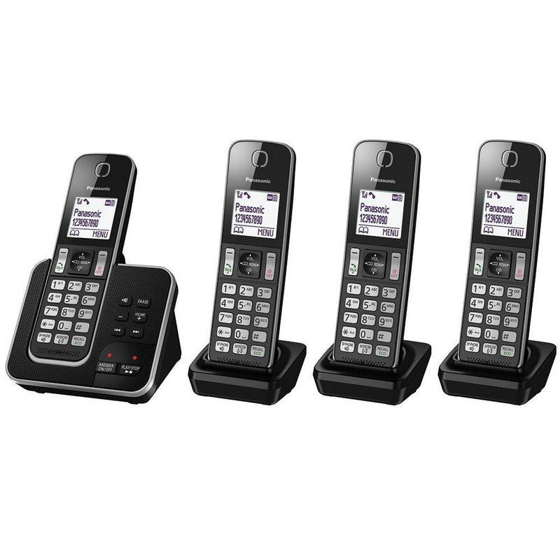 Panasonic KX-TGD324EB Cordless Home Phone with Nuisance Call