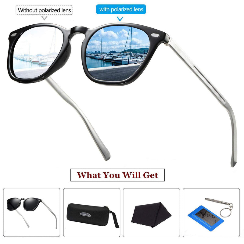 Polarized Sunglasses for men women/Aluminum Leg Outdoor