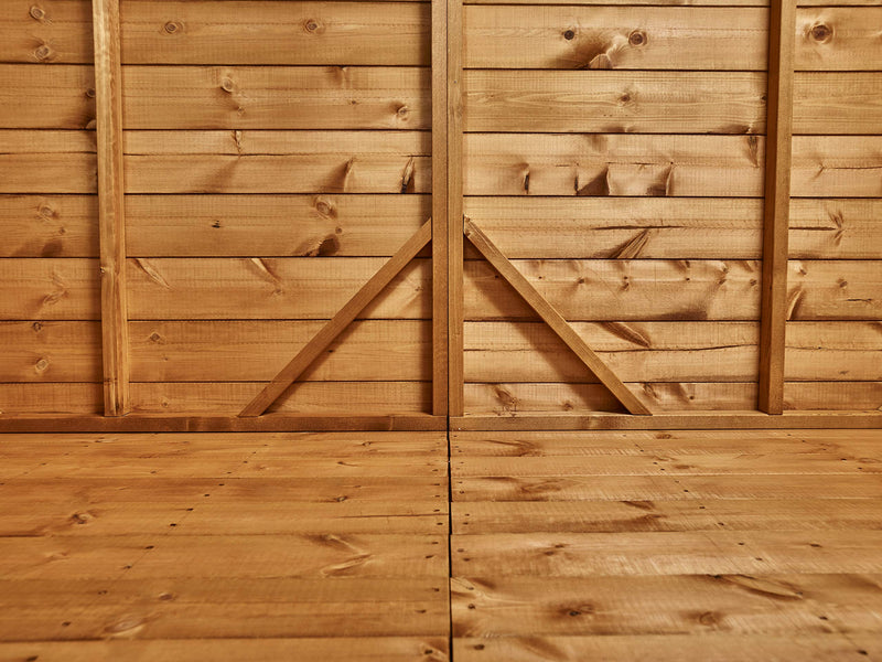POWER | 6x3 Pent Wooden Bike Shed | Shiplap Bicycle Sheds