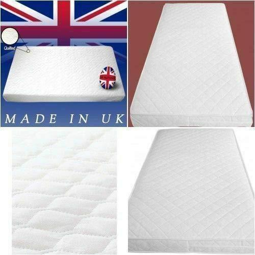 Quilted Breathable Waterproof Baby Toddler Cot Bed Moses