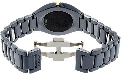 Rado Men's True Thinline 39mm Black Ceramic Band & Case