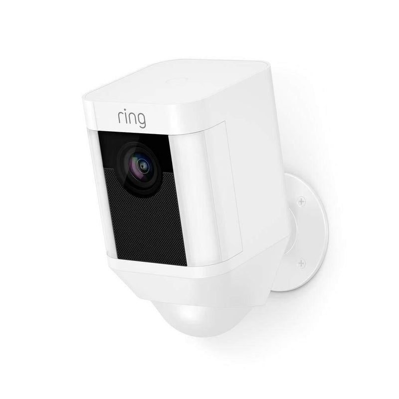 Ring Spotlight Cam Battery | HD Security Camera with LED