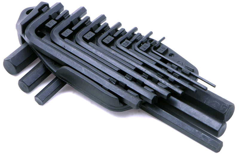 Rolson Hex Key Set 1.5-10 mm - 10 Pieces
