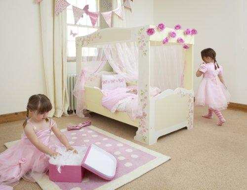 Rose Four Poster Kids Toddler Bed by HelloHome