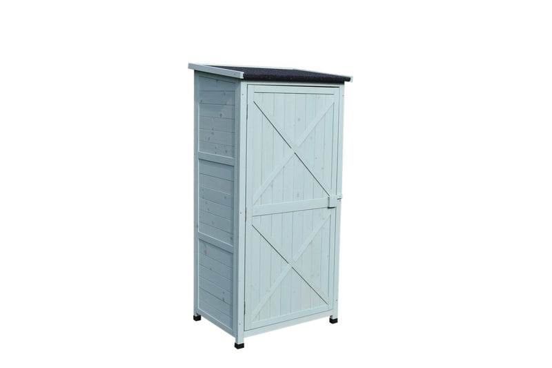 Small Garden Storage Wooden Shed Sage