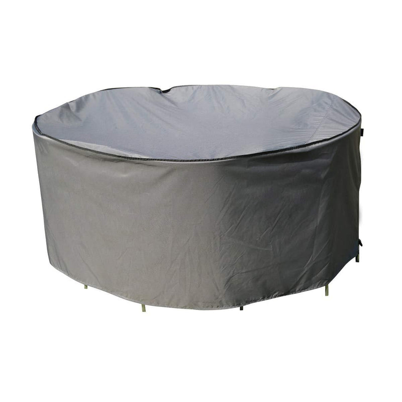 SORARA Protective Cover for Round Table Set | Grey | Ø 203 x