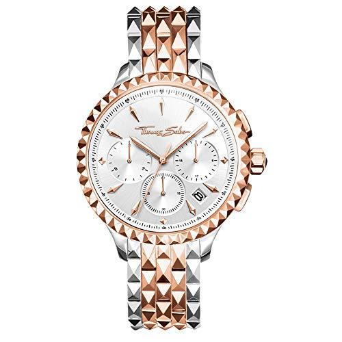 THOMAS SABO Womens Chronograph Quartz Watch with Stainless