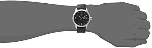 Tissot Men's Analog Automatic Watch with Leather Strap