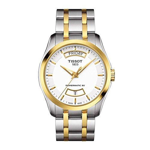 Tissot Mens Watch Couturier Powermatic 80 Analog