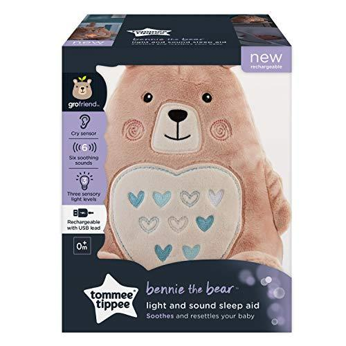 Tommee Tippee Bennie The Bear Rechargeable Light and Sound