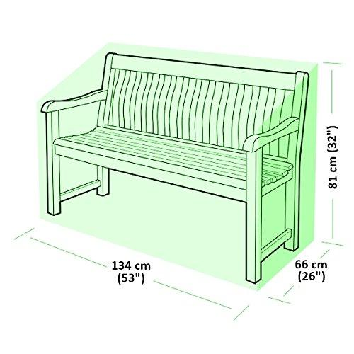Toucan High Quality 2 Seater Outdoor Garden Bench Cover 6ft