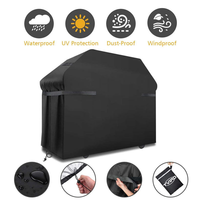 Tvird BBQ Cover Barbecue Cover Waterproof Heavy Duty BBQ