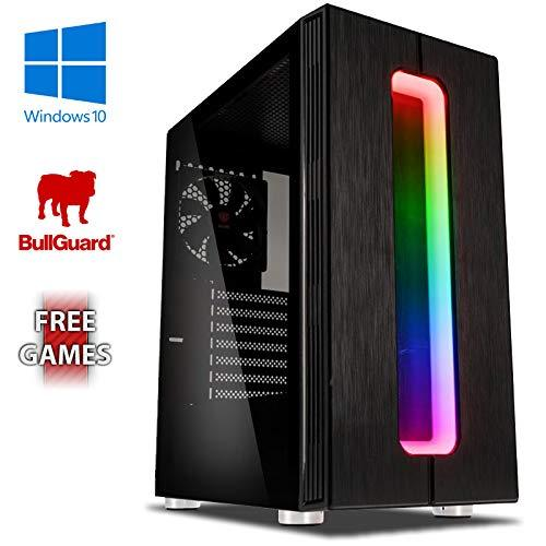 Vibox Gaming PC Computer with 2 Free Games Windows 10 OS