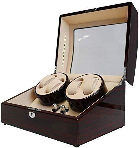 Watch Gift Winder Winder Boxes Rectangle Mute Automatic 4+6