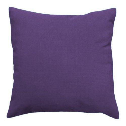 Water Resistant Outdoor Filled 24 Cushion in Purple