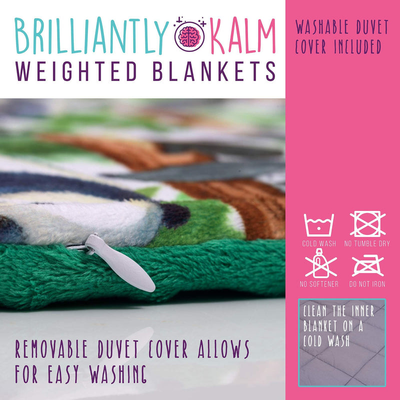Weighted Sensory Blanket (7lbs) For Kids (60-80lbs)- Ideal