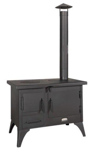 Wood Burning Cooking GARDEN Stove Fireplace Oven Cooker