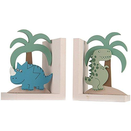 Wooden Dinosaur Book Ends Dinosaur Decoration