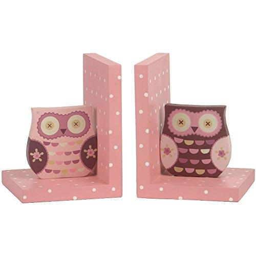 Wooden Wise Owl Book Ends Owl Decoration
