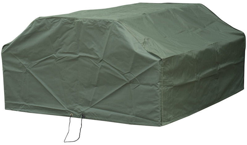 Woodside 6 Seater Square Outdoor Garden Picnic Table Cover