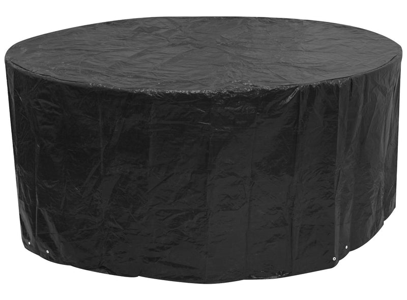 Woodside Black Large Round Outdoor Garden Patio Furniture