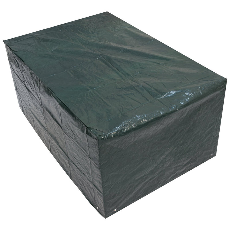 Woodside Small Rectangle Outdoor Garden Table Cover 1.52m x