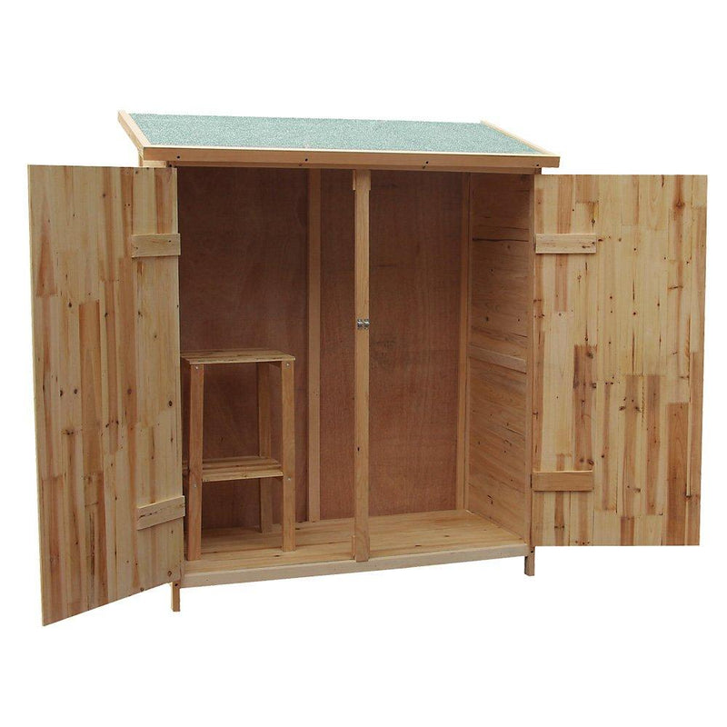 XXL Wooden garden shed tool equipment storage house