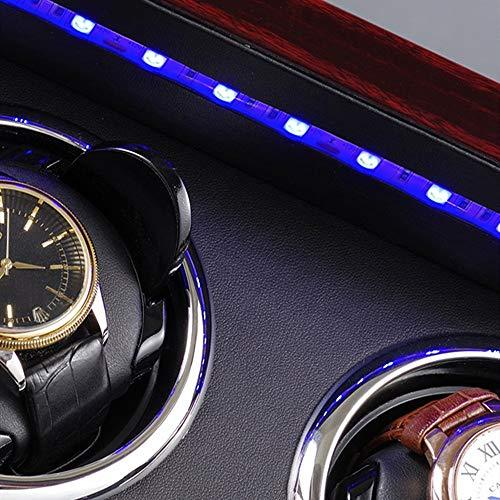 YaGFeng Watch Winder Watch Winder Quiet Motor 5 Rotation