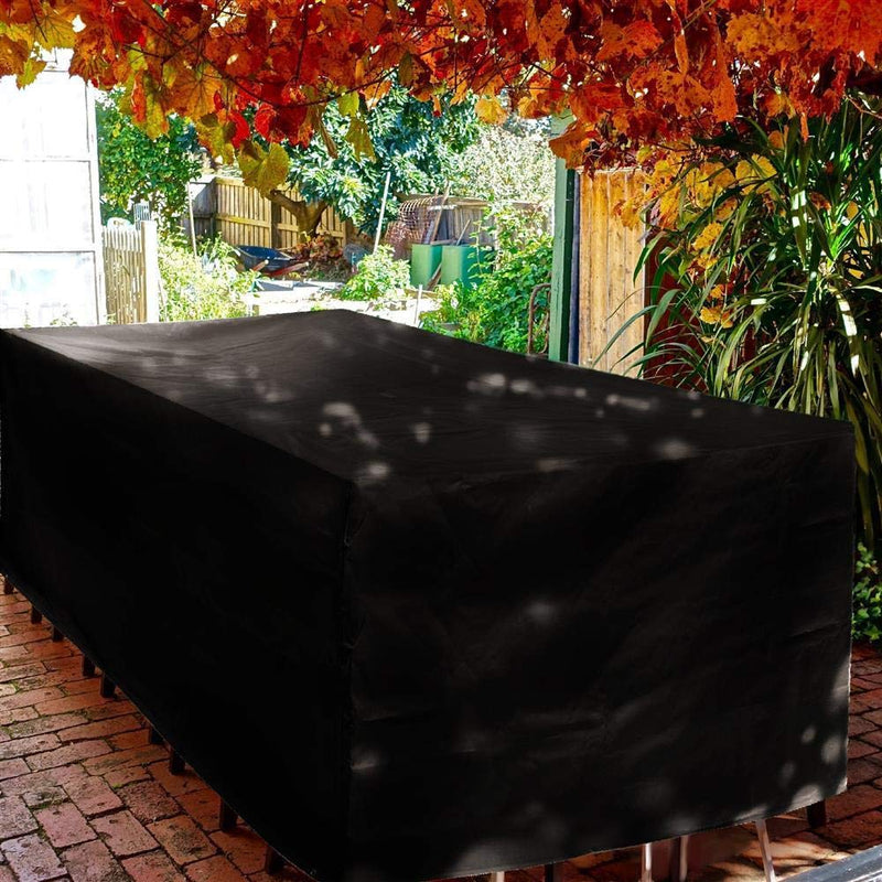 Yaheetech Garden Furniture Covers - Waterproof Anti-UV Heavy