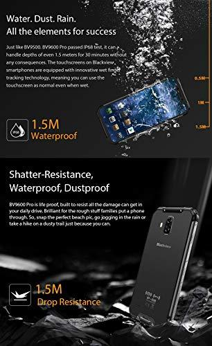 YHZB -BV9600 Pro 6GB+128GB IP68/IP69K Waterproof Dustproof