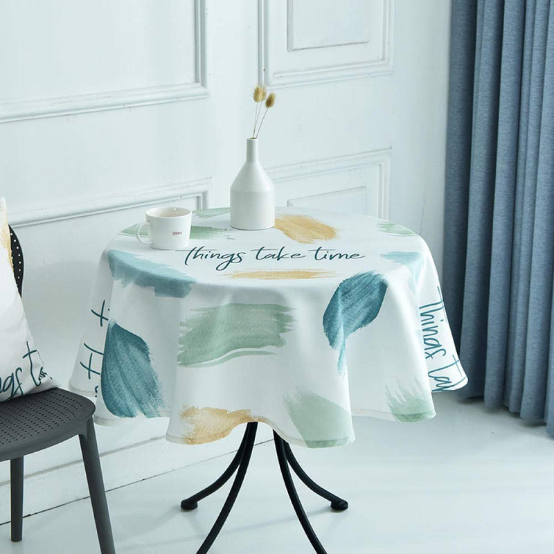YuHengJin Oblong Table Cloth for Table Cover Tablecloth Oil