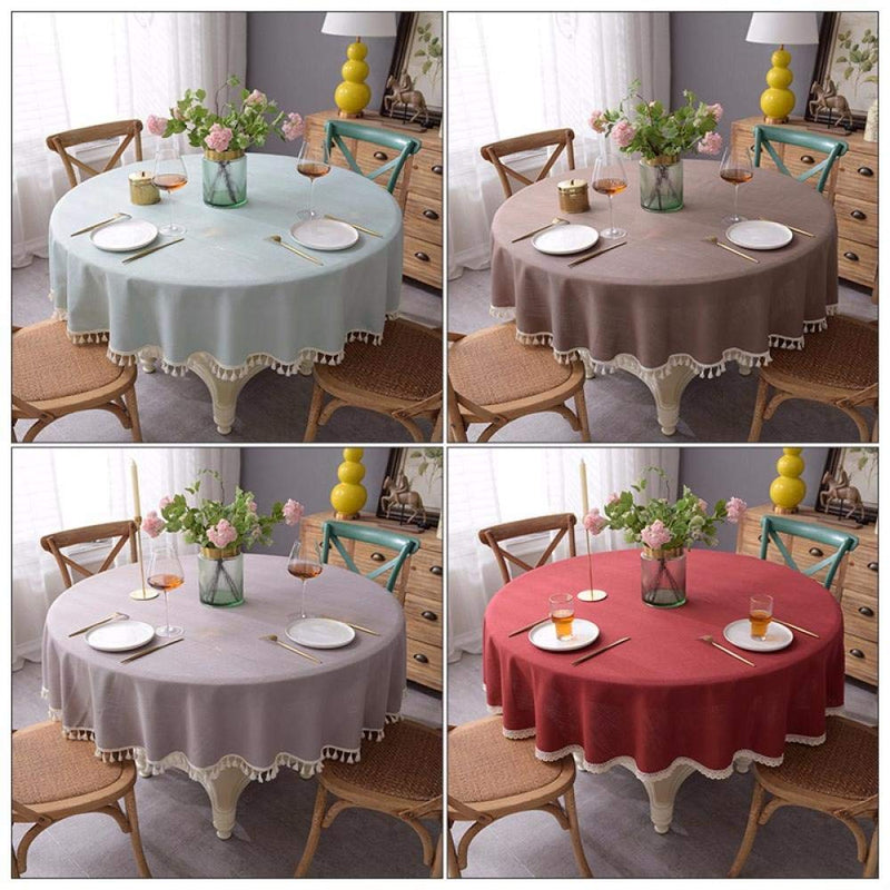 YuHengJin Pattern Water Resistant Table Cloth Rectangular