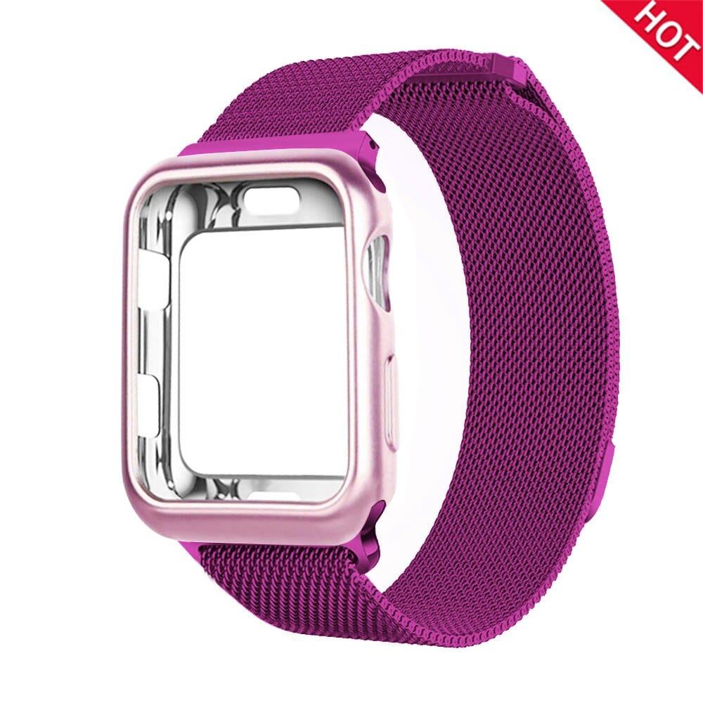 For Apple Watch case + band iwatch 5 strap 42 mm