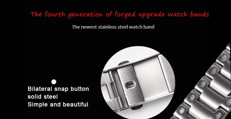 Stainless Steel Watch Bands and Bezel Watchbands