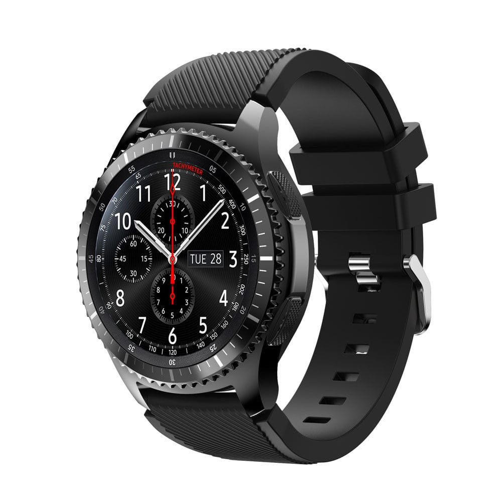 22mm Sports Silicone Watch Band for Samsung Gear S3