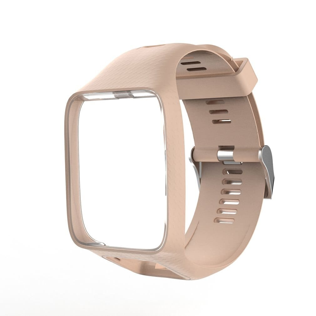 Silicone Replacement Watchband for Tom Tom 2 3