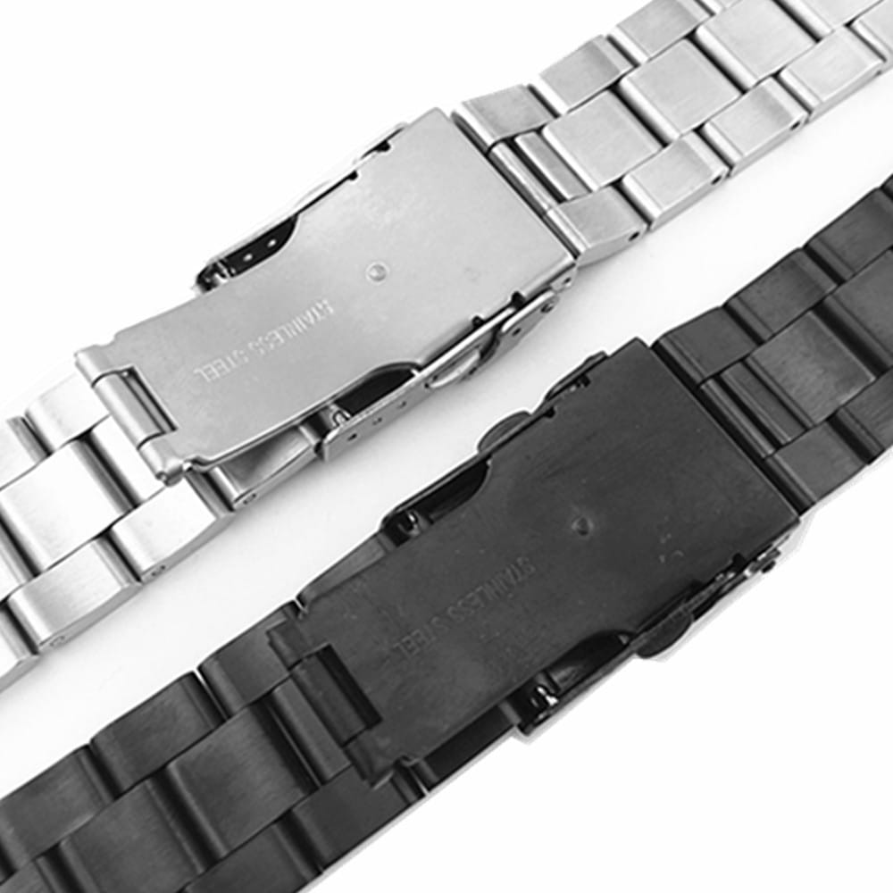Watchband Arc Edge Stainless Steel Strap Arc Mouth