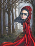 Red Ridinghood Giclee Print