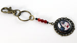 Red Riding Hood Eye Patch Key Chain