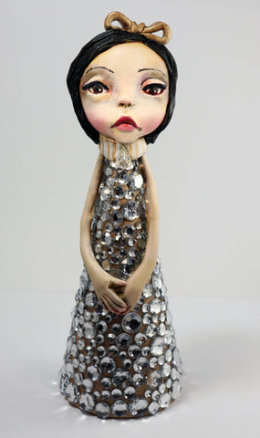 Olivia Surrealism Tree Topper Sculpture