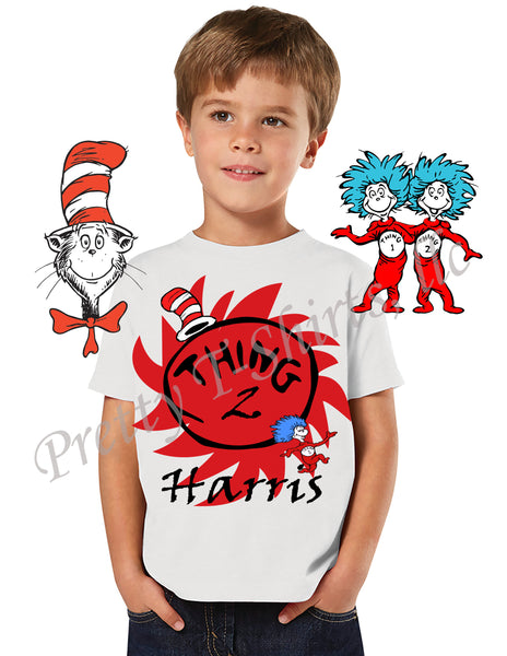 Thing Birthday Shirt, Custom Birthday Shirts, Dr Seuss Birthday Shirt