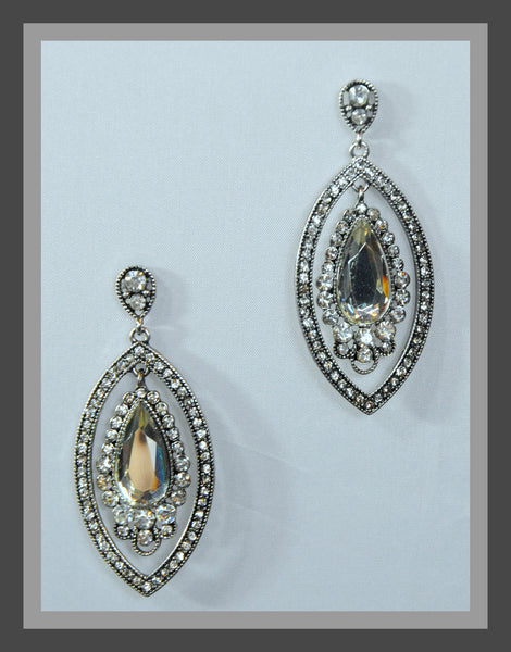 Crystal & Rhinestone Earrings