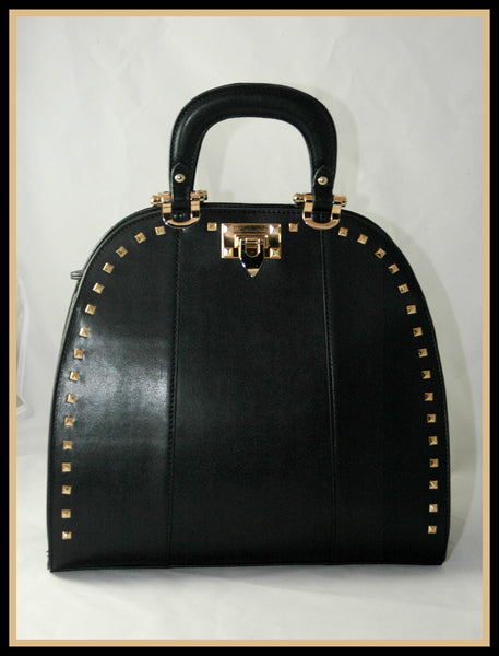 Bowling Bag with Golden Grommets
