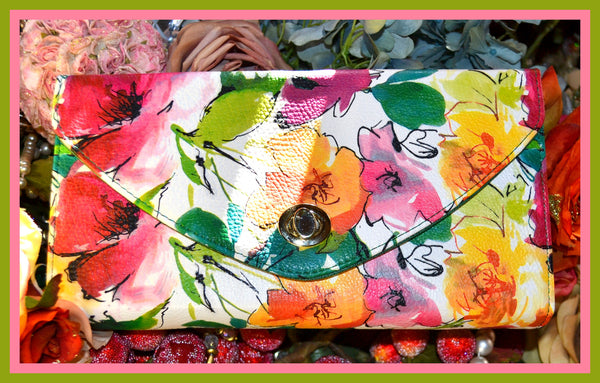 Floral Clutch