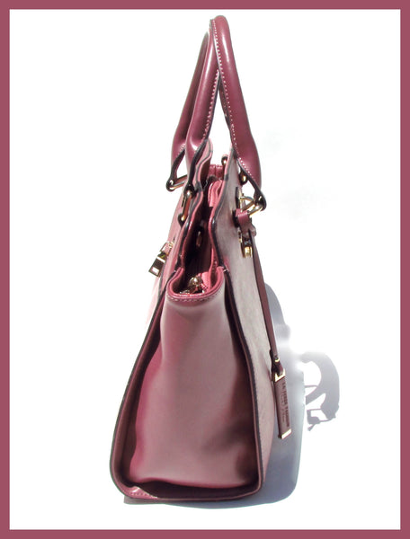 Deep Ruby Handbag